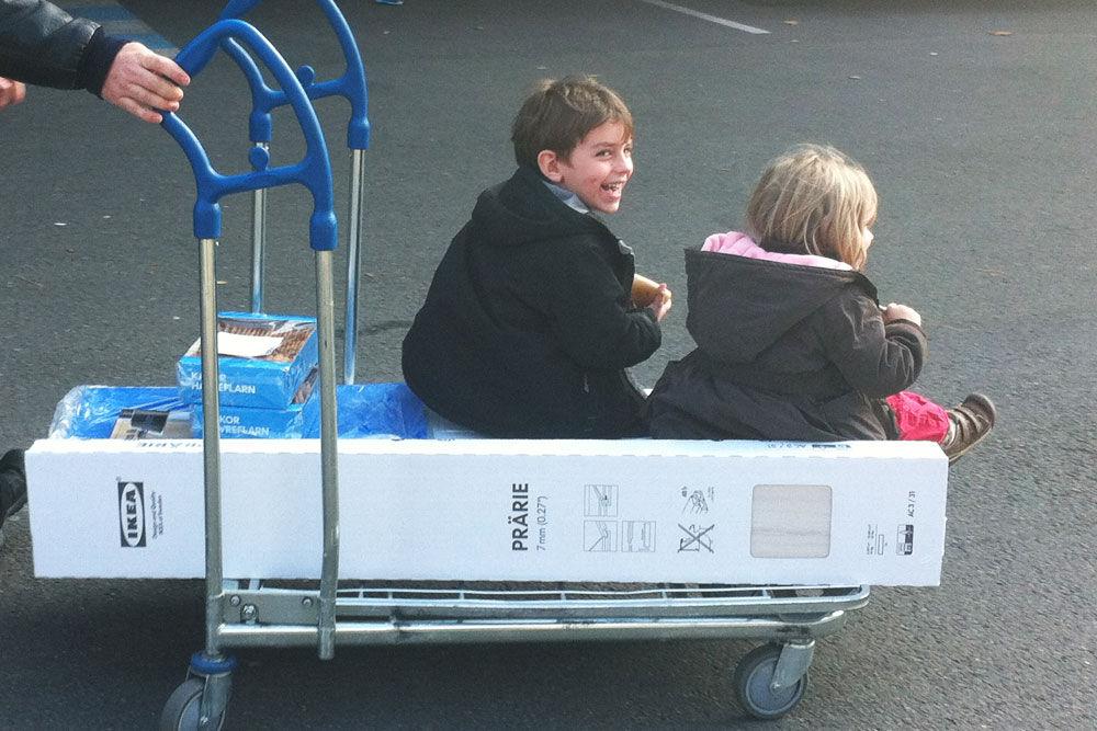 Transports d'enfants optimisés