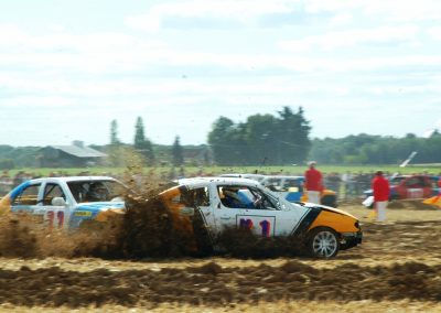 Stock Car à Villebéon 2015