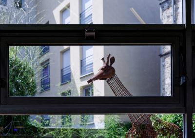 Jardin Zen - Girafe au Recto