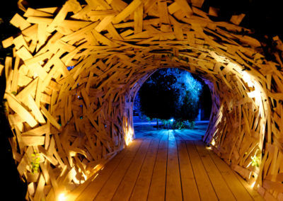 Festival des jardins à Chaumont sur Loire en Nocturne